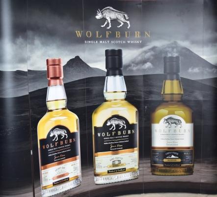 Gute Werbung für Wolfburn