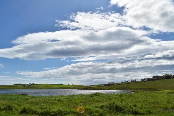 Herrliche Landschaft auf Orkney