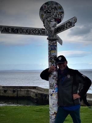"""""""Professor Malt"""" am nördlichsten Punkt des schottischen Festlandes - John-O´Groats3"""